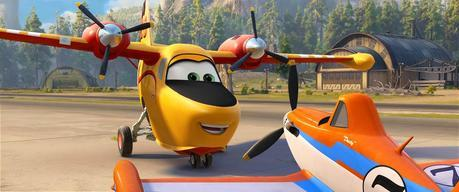 A beautifully animated tribute {Disney's Planes: Fire & Rescue}