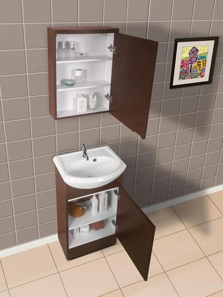 Shallow Bathroom Vanities with 8-18 Inches of Depth ...
