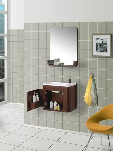 Shallow bathroom vanities with 8 18 inches of depth - Very small bathroom vanity ...