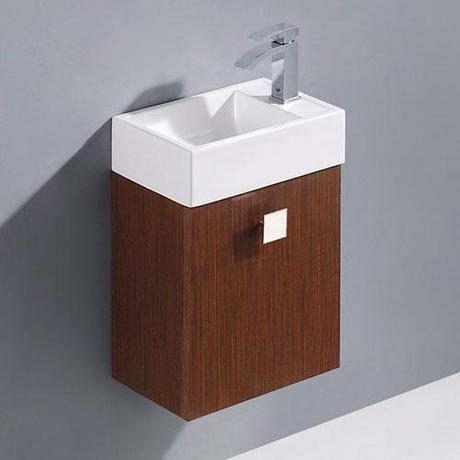 marina 10 inch deep bathroom vanity