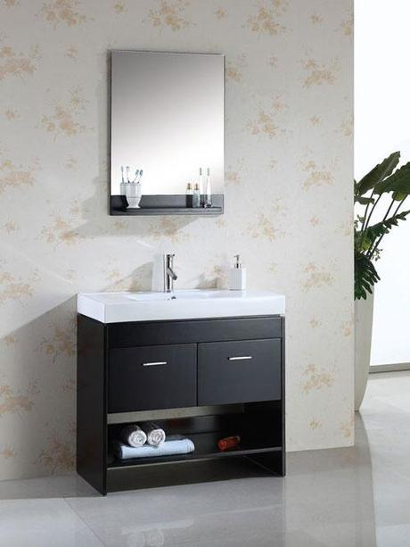 Gloria Modern Vanity From Virtu USA U2013 18.1u2033 Depth