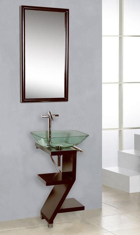 Capistrano Glass Vessel Sink Vanity
