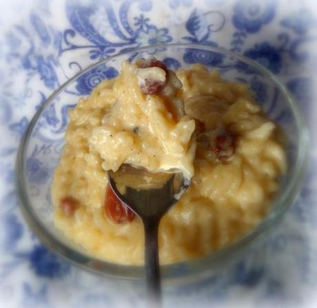 Rice Pudding with Coconut Milk, Cardamom, Vanilla and ...