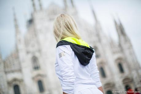 Fitness On Toast Faya Blog Girl Healthy Training Travel Milan Italy Fashion Activewear Gym Clothes Outfit Sporty Chic Look OOTD Hotel Luxury Principe Di Savoia J Brand Louis Vuitton Under Armour Monreal London Duomo-1-3