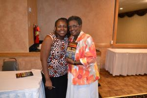 me and mom book signing 118