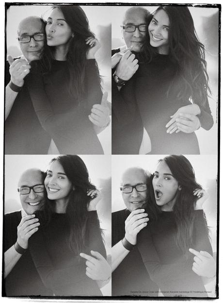 Daniela De Jesus Cosio  and Benjamin Kanarek backstage © Frederique Renaut