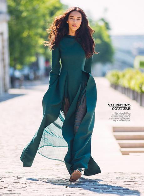 Daniela De Jesus Cosio in Valentino © Benjamin Kanarek