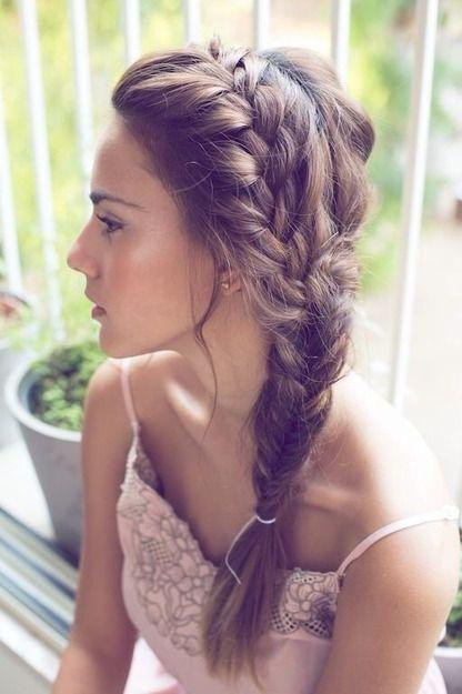 Wondrous Easy And Cute Braided Hairstyles For Girls Paperblog Hairstyle Inspiration Daily Dogsangcom