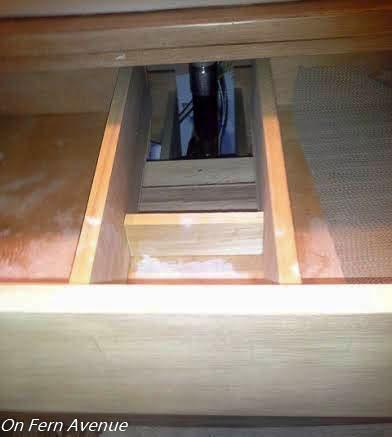 Drawers Plumbing Cut Out