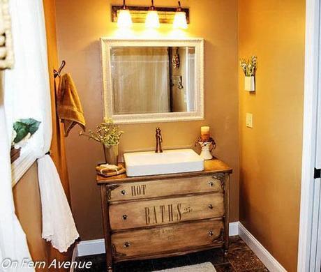 Vanity Dresser Completed Project