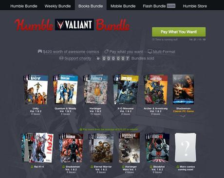 VALIANT Humble Bundle Is A Massively Good Deal
