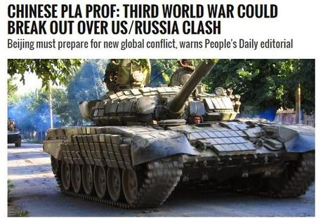 China Warns Of World War 3