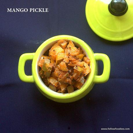 MANGO PICKLE RECIPE | HOW TO MAKE MANGAI OORUGAI ( URUGAI )