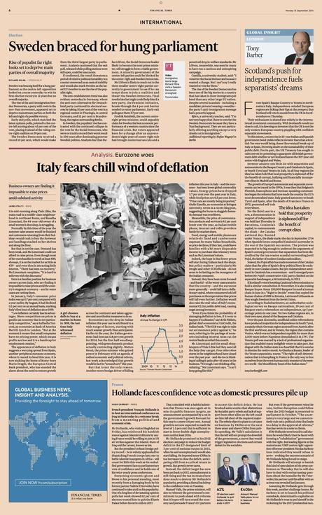 Financial Times: a classic redesign for the digital age