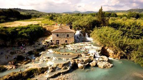Cascate del Mulino Saturnia Tuscany Italy