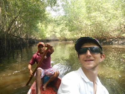Magical jungle river tour with Julio.