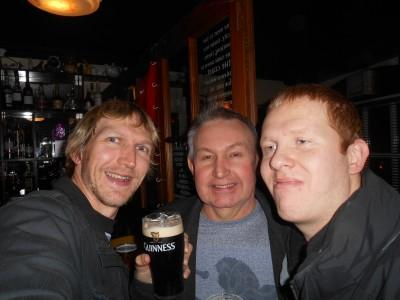 Night out with Dad and Marko in Bangor, Northern Ireland. More to come...
