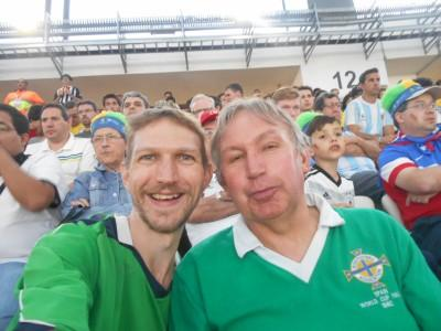 brazil world cup with dad
