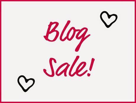 Blog Sale Announcement!