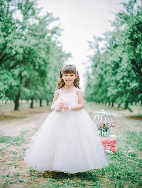 Gorgeous ball gown flower girl dress