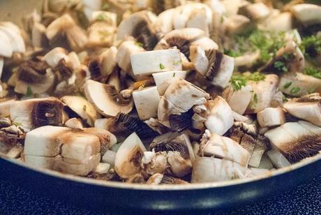 Mushroom Toast Appetizers