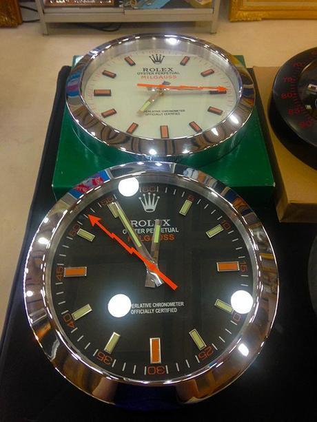 Rolex Milgauss Wall Clock