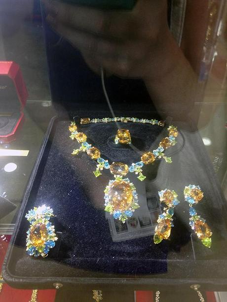 Huge Necklace Suite by Guaranteed Real