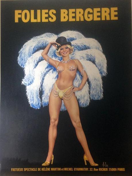 Folies Bergere Poster Birmingham Estate & jewelry Buyers
