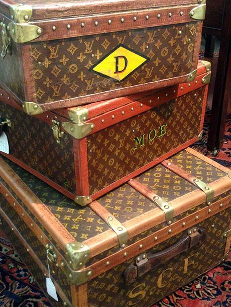 Antique Louis Vuitton Trunks