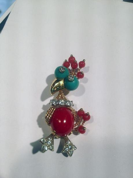 Jack Wier and Sons Vintage Bird Pin