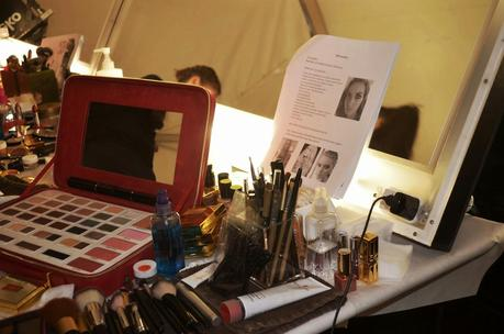Elizabeth Arden Red Door Spa Backstage at Art Hearts Fashion Spring 2015 Collection