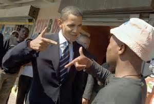 obama gun gesture