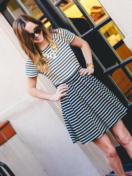 TIBI STRIPES