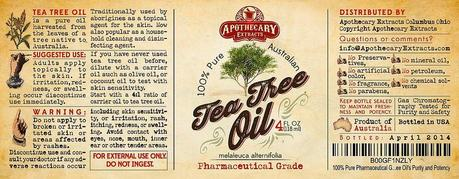 PRODUCT REVIEW: Red Rover Naturals Tea Tree Oil