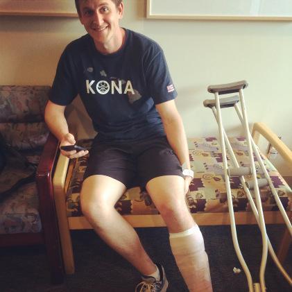 kyle broken leg