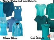 Identify Warm Blues Cool Greens