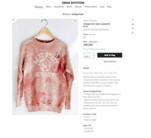 Urban Outfitters' Kent State Fiasco