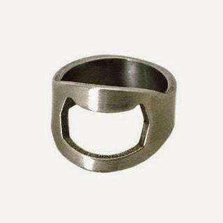 Image: Sodial - Bottle Opener Ring