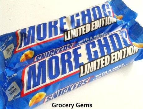 New Snickers More Choc Limited Edition (UK)