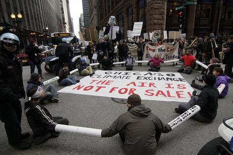 Smolker participated in mass direct action during the climate convergence in 2009