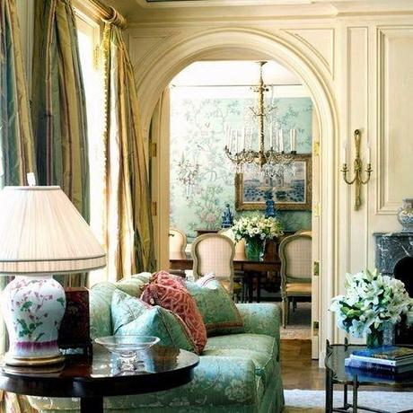 50 Favorite For Friday #145  - Classically Elegant Traditional Rooms