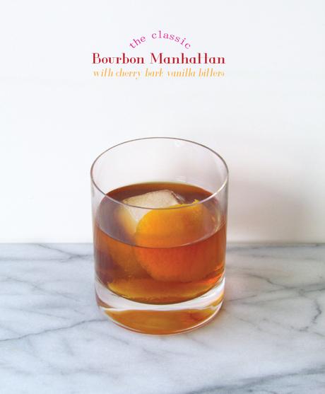 Bourbon Manhattan with Cherry Bark Vanilla Bitters - Paperblog