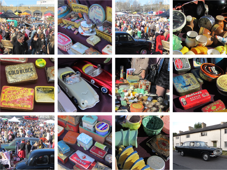 Classic Car Boot Sale this weekend at Queen Elizabeth Olympic Park