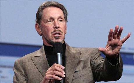 Oracle CEO Larry Ellison steps down