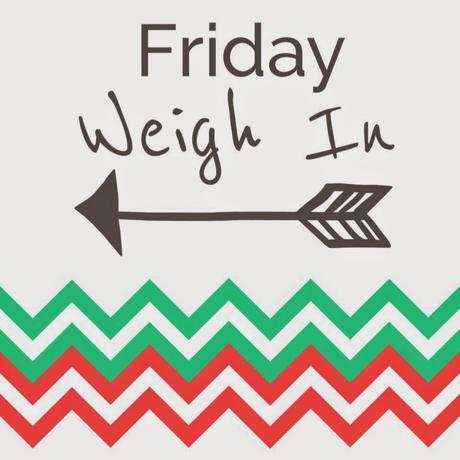 Friday Weigh In