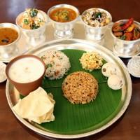 South Indian Prasadam Thali