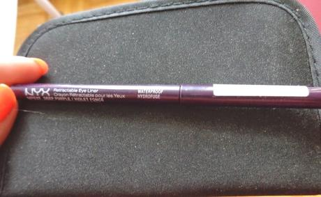 What not to buy - NYX Retractable Eye Liner in Deep Purple