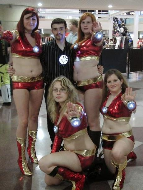 Iron Man and Iron Ladies, or, Pimpinest Iron Man Ever