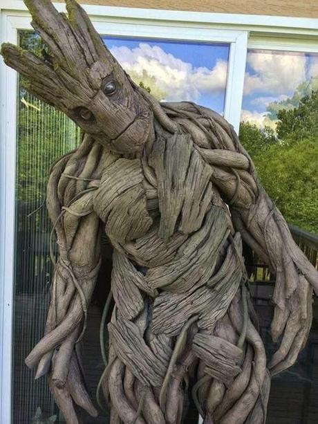 Badass Groot Costume Cosplay Guardians of the Galaxy