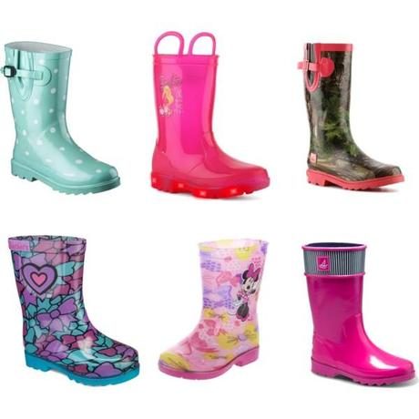 Little Girls Rain Boots under $50!